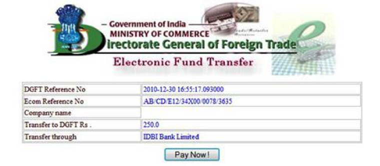 Import export license through iec code online application iec code online application 2 yelopaper Gallery